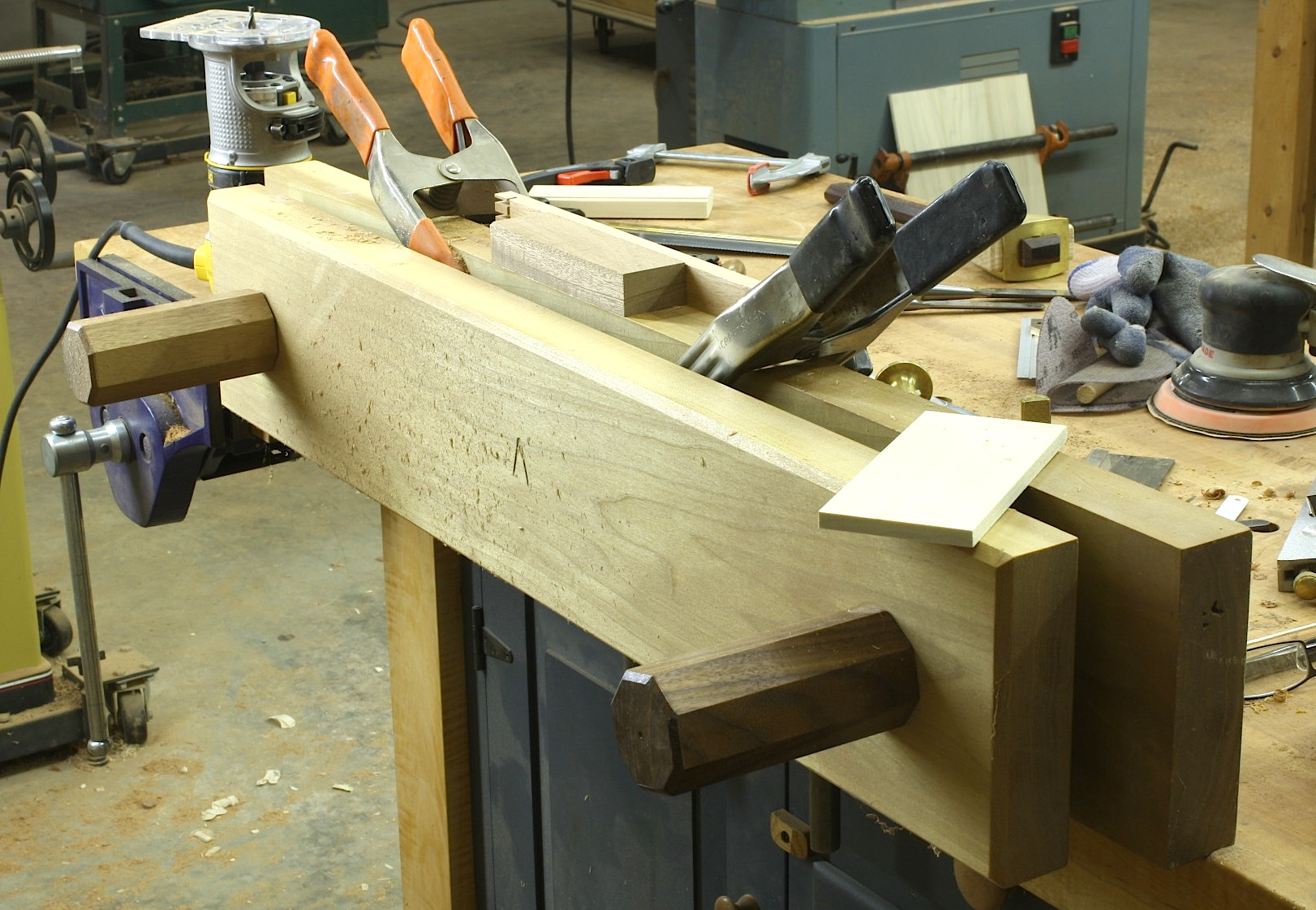 popular woodworking lvl bench