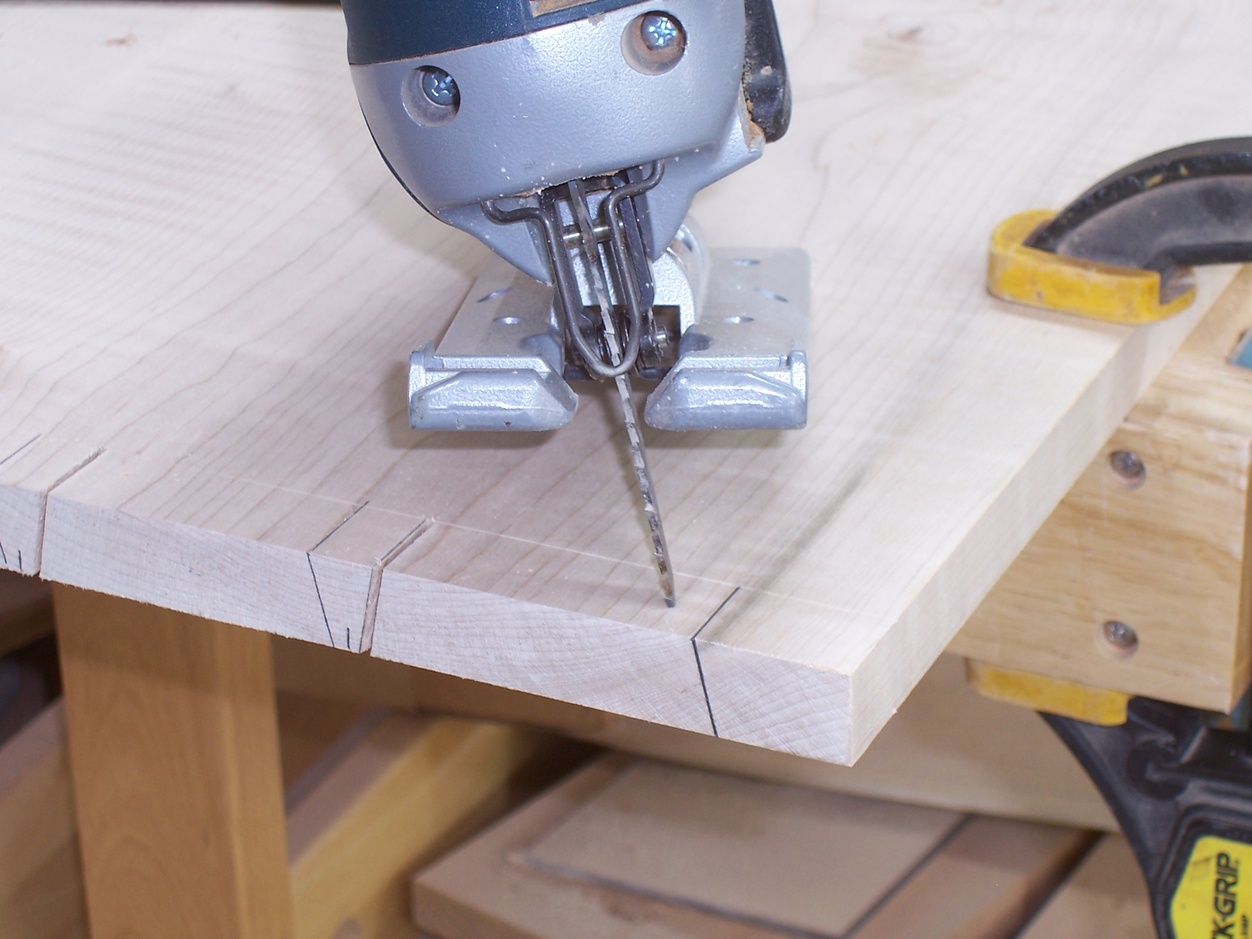 how to make dovetail joints with a jigsaw